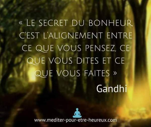 photo image mots citation Gandhi